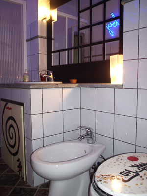 Asia room - Bathroom