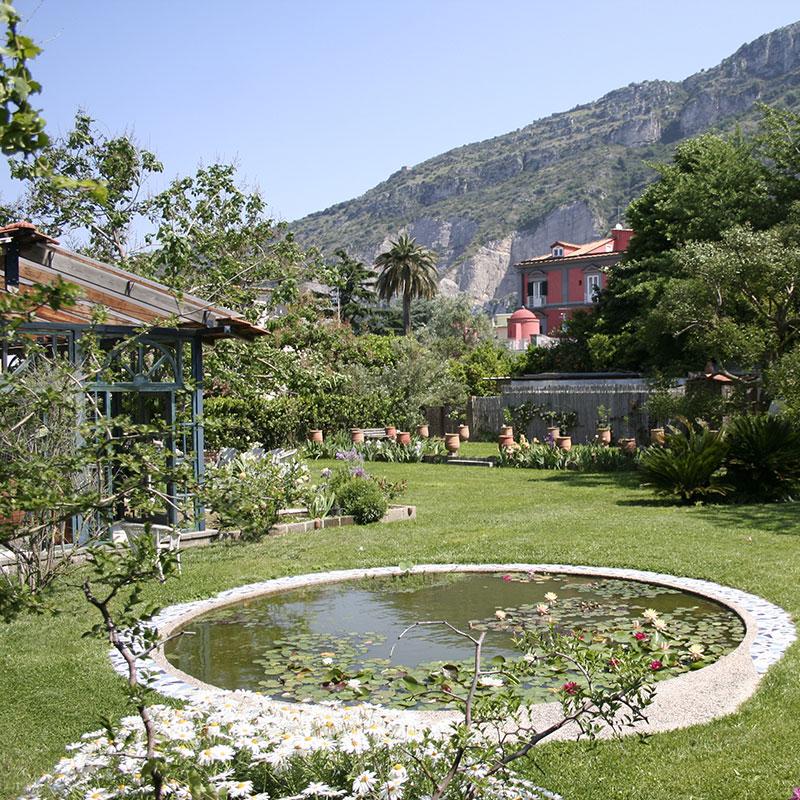 Sorrento b&b for garden lovers