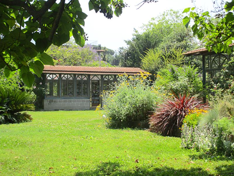 Garden for wedding in Sorrento